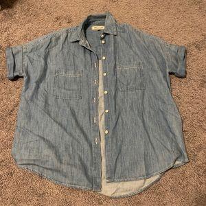 Madewell Courier Shirt Denim
